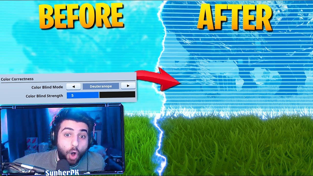 This SECRET Setting is BROKEN! See In The Storm!?! (Fortnite Battle Royale)