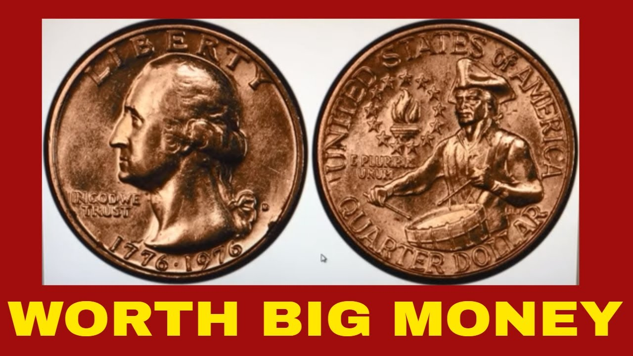 CHECK YOUR CHANGE FOR THIS COMMON BICENTENNIAL QUARTER WORTH GOOD MONEY!  QUARTERS TO LOOK FOR!