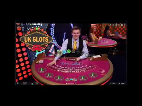 Live Online Blackjack #5 - Low Stakes with side bet trips.