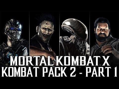 "Mortal Kombat X - Kombat Pack 2 - Let's Play - Part 1 - ""Alien (Xenomorph)"""