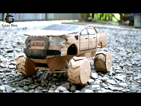 how to make a toy car ford ranger using cardboard youtube. Black Bedroom Furniture Sets. Home Design Ideas