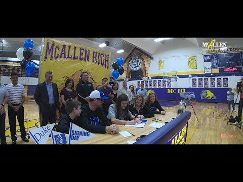 McAllen ISD produces Division I athletes: McHi's Kelly signs with Duke