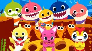 【Baby Shark】和YOYO家族一起跳鯊魚寶寶體操!最新MV兒歌|鯊魚家族|鯊魚舞Babyshark Dance|鯊魚一家|鯊魚歌|아기상어 |상어가족|เบบี้ชาร์ค|YOYOX碰碰狐 thumbnail
