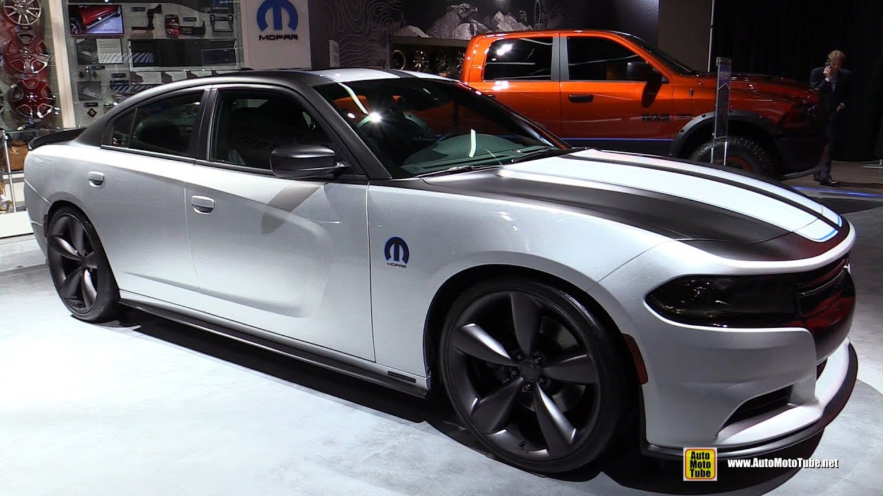 2016 dodge charger rt deep stage 3 by mopar exterior walkaround 2016 detroit auto show youtube