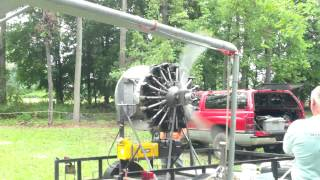 Jacktown PA Farm Show Airplane Engine Start Up