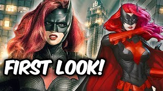 BATWOMAN OFFICIAL FIRST LOOK!!!