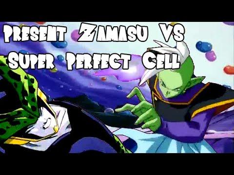 Present Zamasu vs Super Perfect Cell (ザマス VS セル)