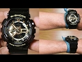 CASIO G-SHOCK GA-110GB-1A BLACK GOLD - UNBOXING
