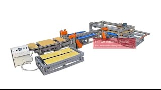 Automatic Edge Trimming Saw/plywood Trimming Saw / Automatic Cnc Plywood Cutting Machine