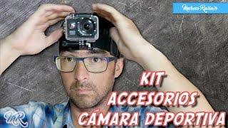 KIT Accesorios Cámara Deportiva | Marcos Reviews