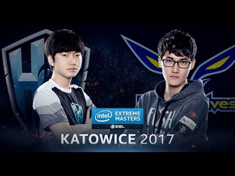 LoL - H2k-Gaming vs. Flash Wolves - Semifinal Game 1 - IEM Katowice 2017
