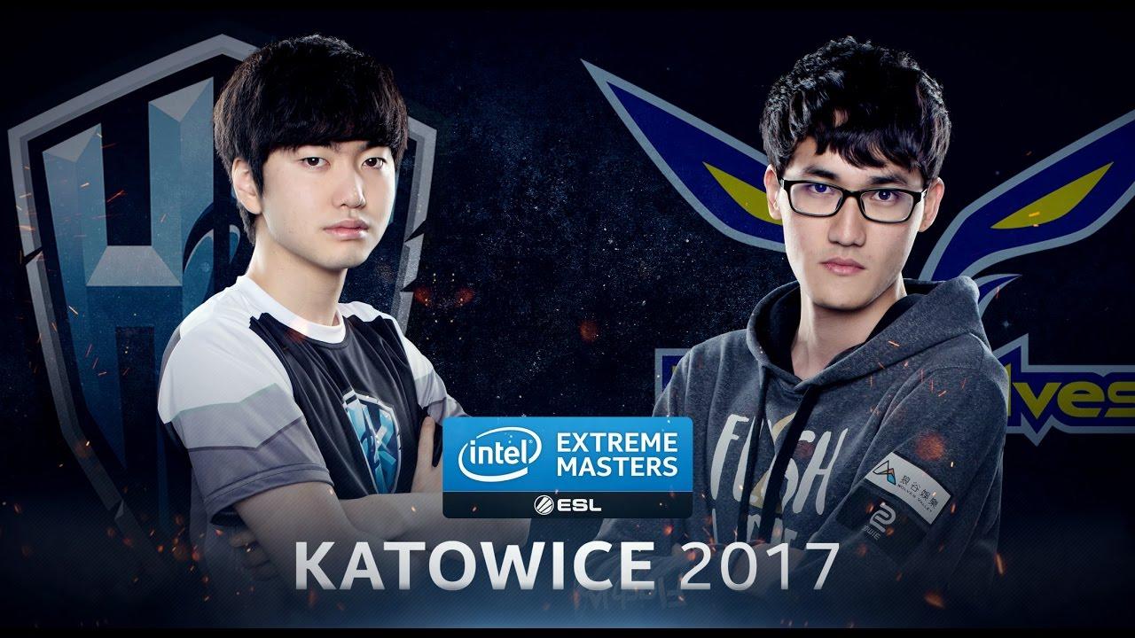 LoL - H2k-Gaming vs. Flash Wolves - Semifinal Game 1 - IEM Katowice 2017