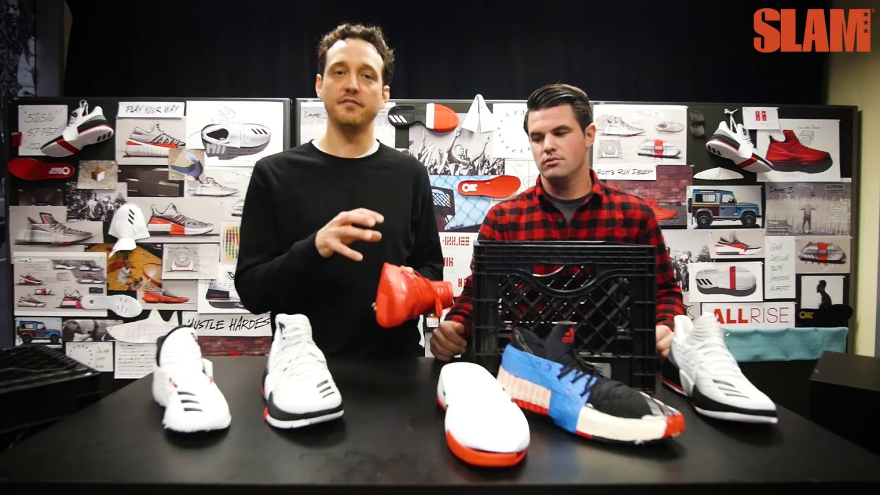 527dc083b4b5 adidas Dame 3  Behind the Design - YouTube