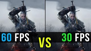 30 FPS vs. 60 FPS Gaming Comparison