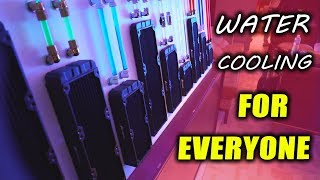 Hydro X - Corsair's New CUSTOM Water Cooling for Everyone!