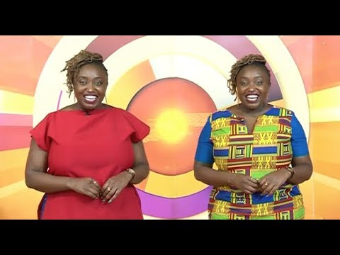 Mwikali\'s identical twin joins KTN Life & Style Artistic Thursday