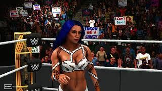 WWE 2K19 - 4K - Sasha Banks Return VS Becky Lynch - Raw Championship - Clash Of Champions