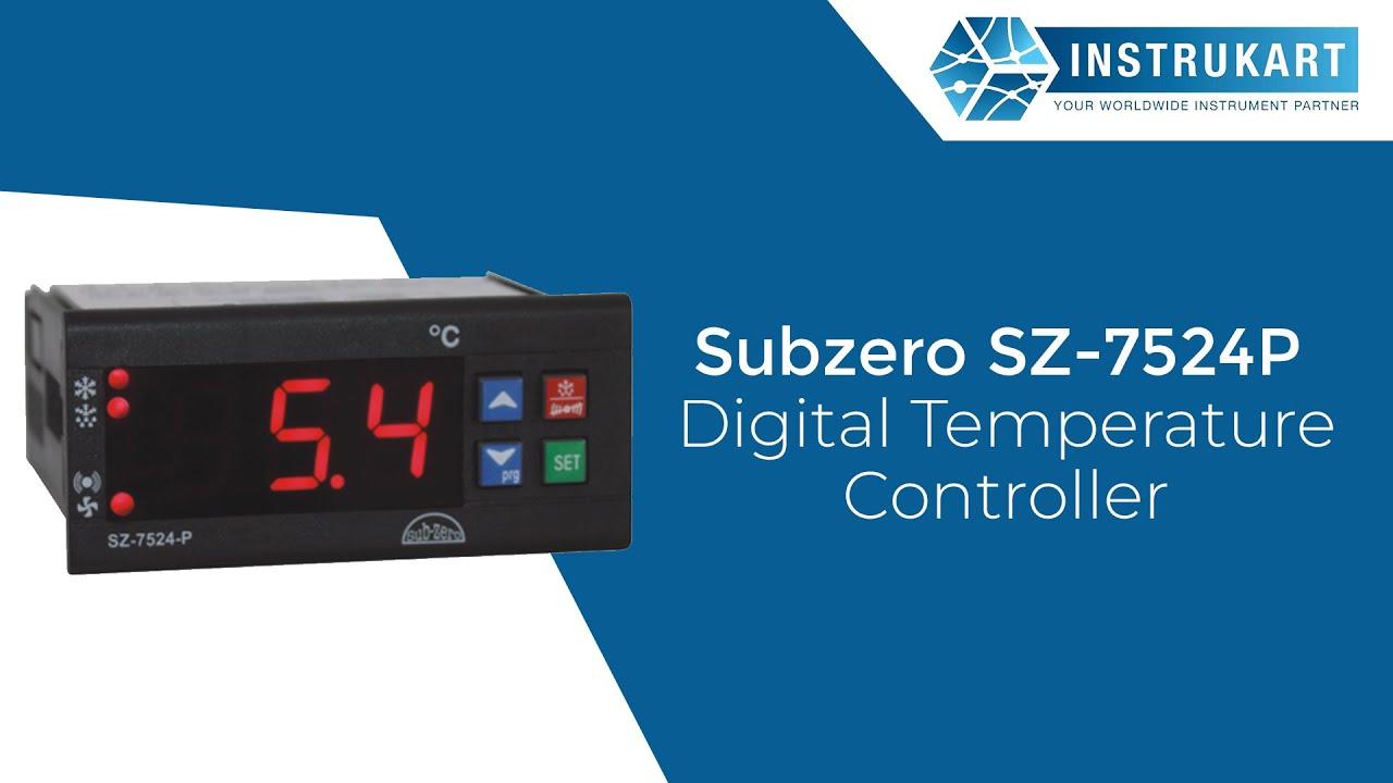 subzero sz 7524p digital temperature controller [ 1280 x 720 Pixel ]