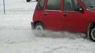 Palenie gumy drift Daewoo Tico by Oscar C-770