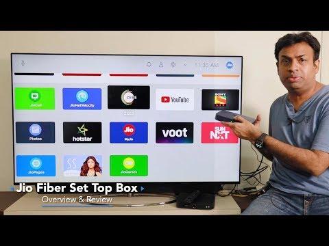 Jio Fiber Set Top Box Review Cable TV Replacement?