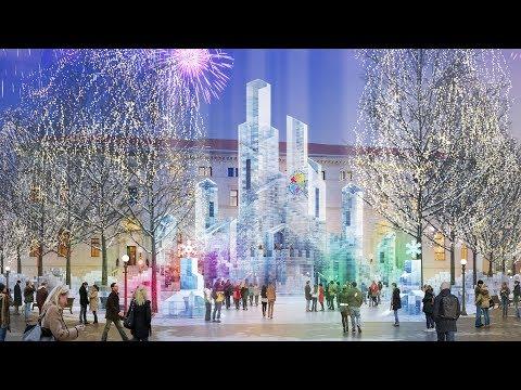 Saint Paul Winter Carnival Unveils 2018 Ice Palace