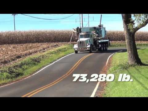 Stephenson Equipment's NTC55 Exclusive Built Truck Crane