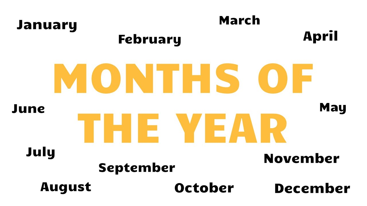 Download English Vocabulary - MONTHS OF THE YEAR