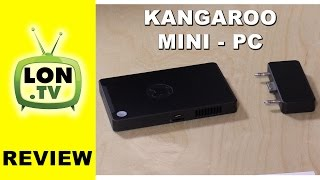 Kangaroo Mini PC Review - 99 Full Windows 10 Desktop PC Mobile Desktop Computer