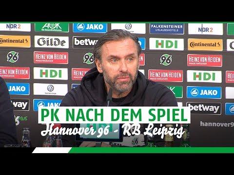 PK nach dem Spiel | Hannover 96 - RB Leipzig