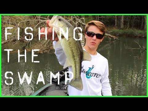 Fishing the Swamp | Bass Fishing on Louisiana Southern Rivers