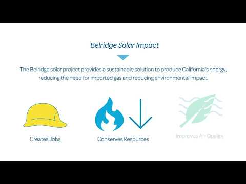 Aera Energy and GlassPoint Introduce Belridge Solar, California's largest solar project.