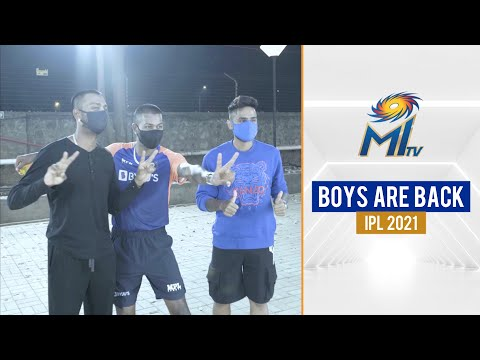 Surya, Hardik and Krunal are back for IPL 2021 | टीम मुंबई पहुंची | Marriott Bonvoy