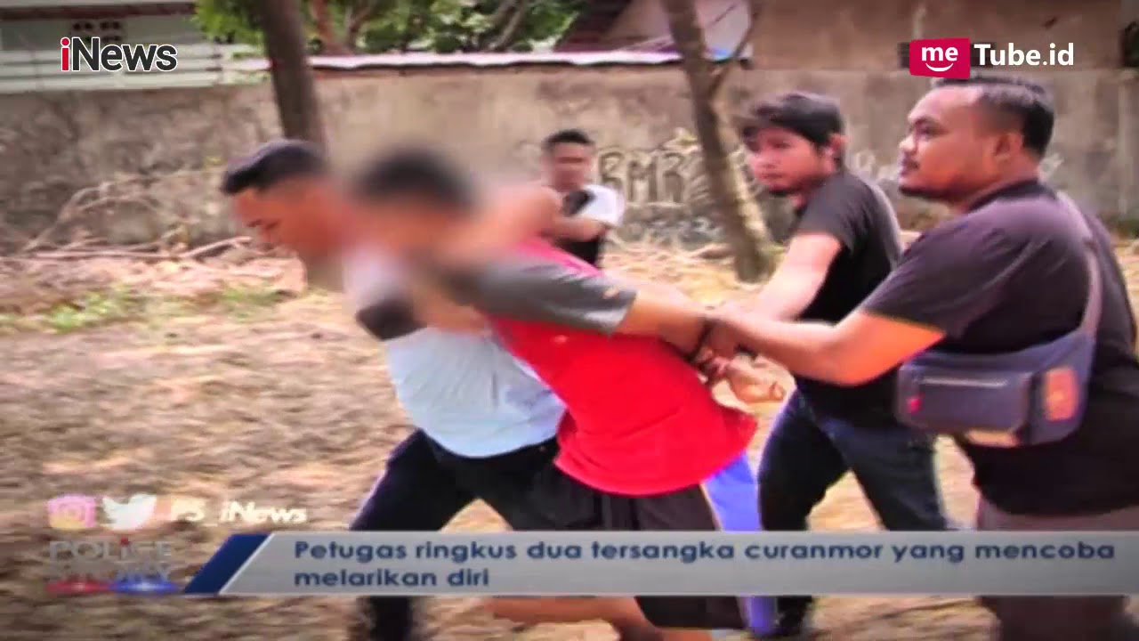 Detik-detik Penangkapan Pelaku Curanmor, Polisi Lepas Tembakan Part 02 - Police Story 12/09
