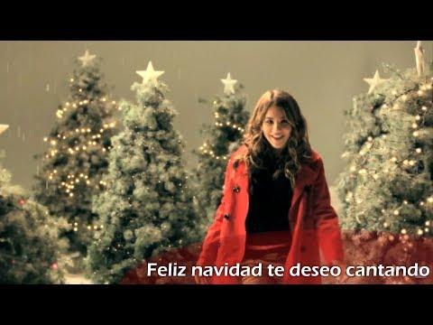 Feliz navidad te deseo cantando / Lyrics + Übersetzung