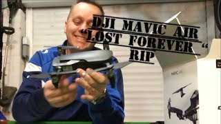 "DJI MAVIC AIR LOST, Please Help ""it just flew away"" Brand New 2nd Flight"