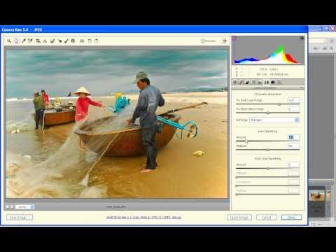 Photoshop CS4 - Phan 1 - Bai 10 - Anh den trang nghe thuat tu BR