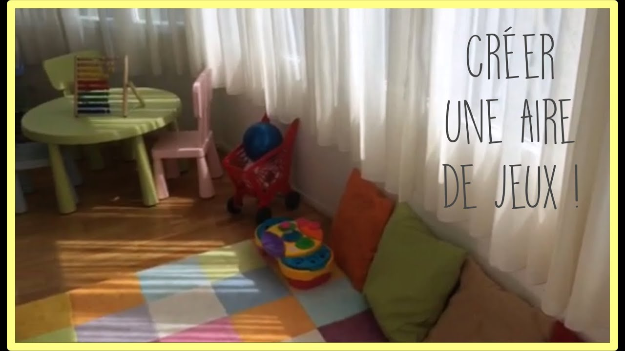 diy cr er une aire de jeux zakira youtube. Black Bedroom Furniture Sets. Home Design Ideas