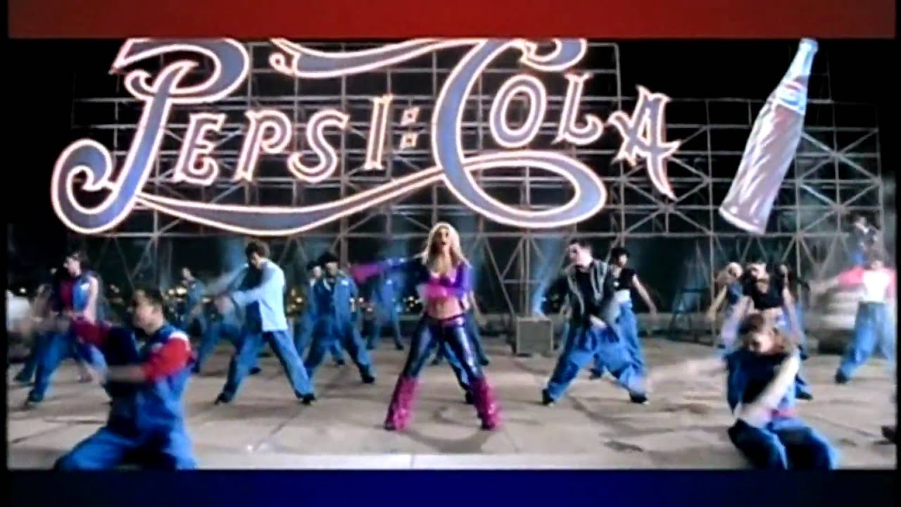 Britney Spears - 'joy Of Pepsi' Commercial Hd 1080p