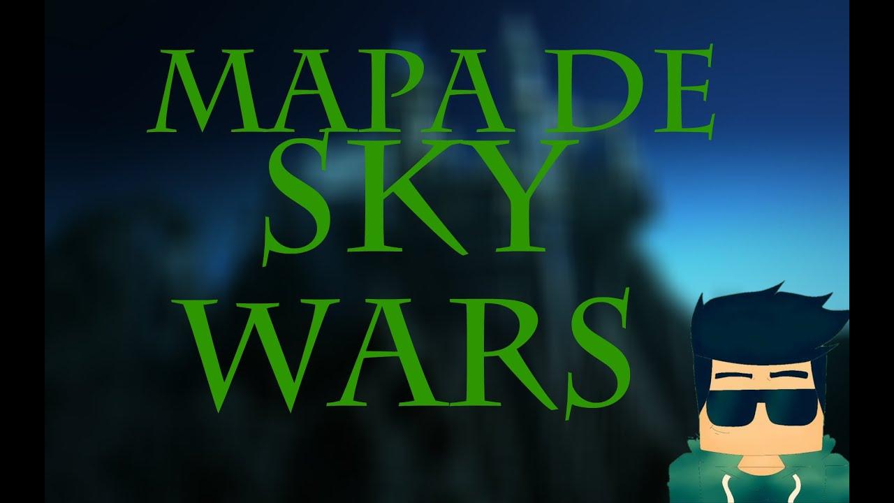 Download Mapa de sky wars para minecraft pe 0.12.1 (DOWNLOAD)