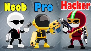 Jhonny Trigger Noob Vs Pro Vs Hacker - Who Are You?