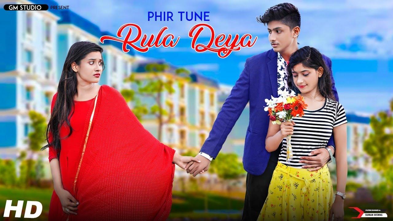 Baarish Ban Jaana | Phir Tu Rula Diya | Heart Touching Love Story | School Love Story | Stebin Ben..