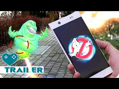 Ghostbusters World Trailer & Gameplay (2018) iOS, Android Augmented Reality Game