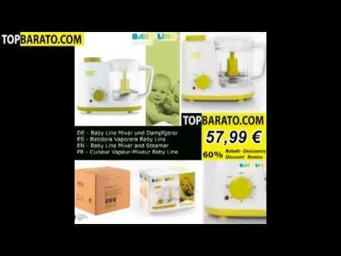 baby-line-mixer-und-dampfgarer---batidora-vaporera---mixer-and-steamer---cuiseur-vapeur-mixeur
