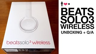 Beats Solo 3 Wireless Unboxing + First Impressions Review