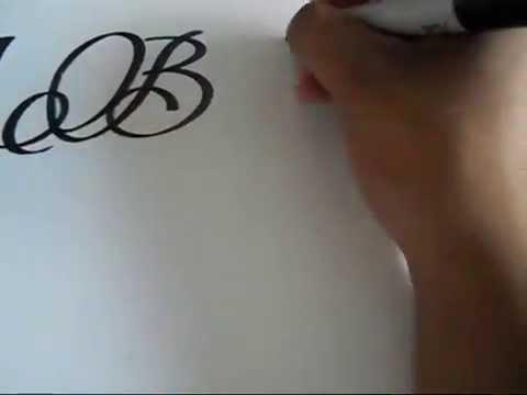Sharpie Calligraphy Youtube