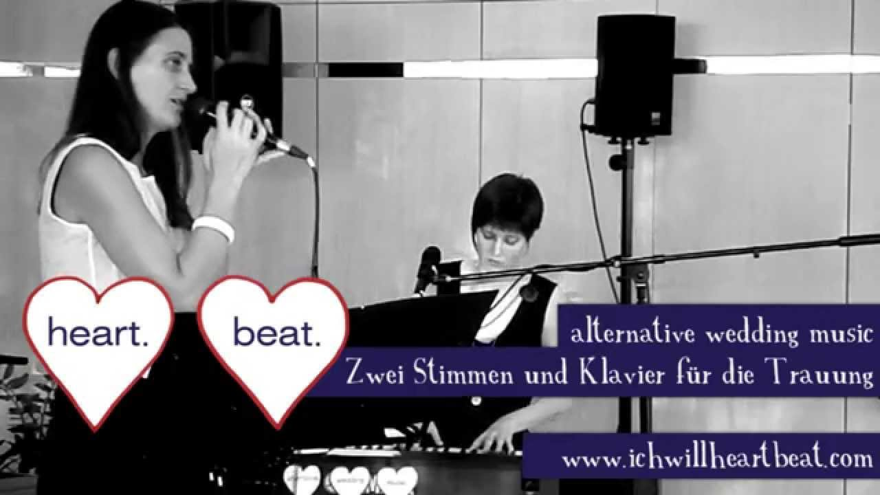 Alternative Wedding Songs Heartbeat First Day Of My Life Bright Eyes Cover Hochzeitslieder