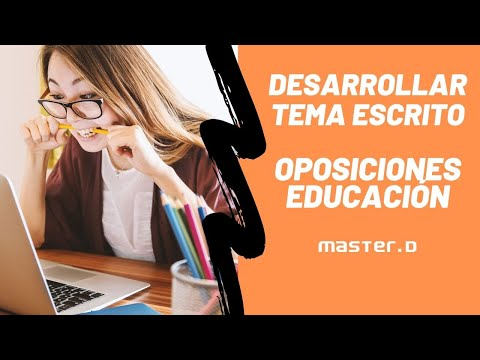 La Lectura en la Oposición - MasterD from YouTube · Duration:  35 minutes 7 seconds