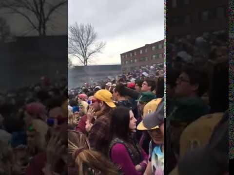 University of Vermont (UVM)-  April 20th (4/20) - 2017