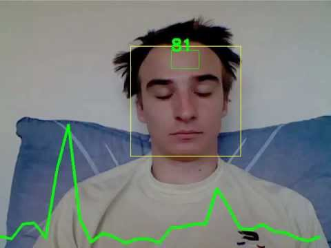 Webcam Heart-Rate Monitor - Projects - Jhnet