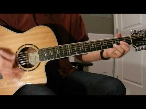 """Kenny Chesney's """"Bar At The End Of The World"""" cover guitar lesson"""
